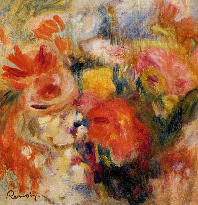 Flower Study - 1913. Пьер Огюст Ренуар
