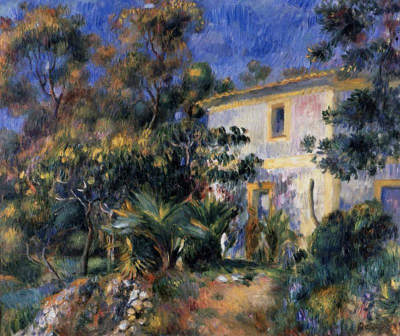 Algiers Landscape - 1885. Pierre-Auguste Renoir