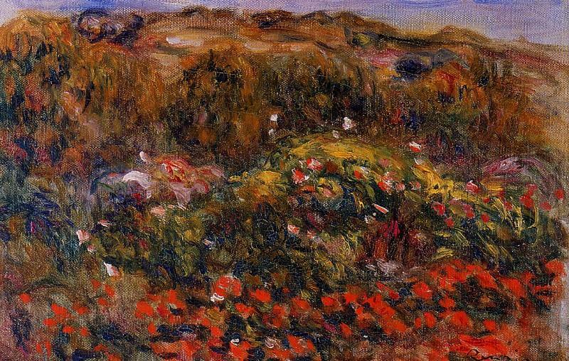 Landscape - дата не известна. Пьер Огюст Ренуар