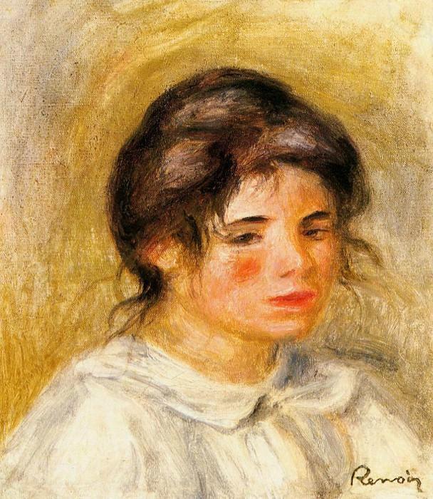 Portrait of Gabrielle - 1906. Pierre-Auguste Renoir