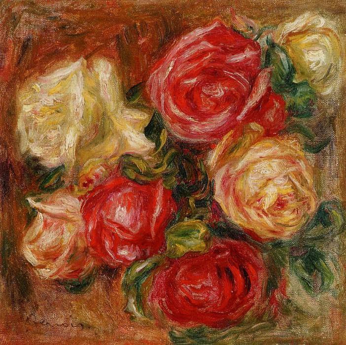 Bouquet of Flowers. Pierre-Auguste Renoir