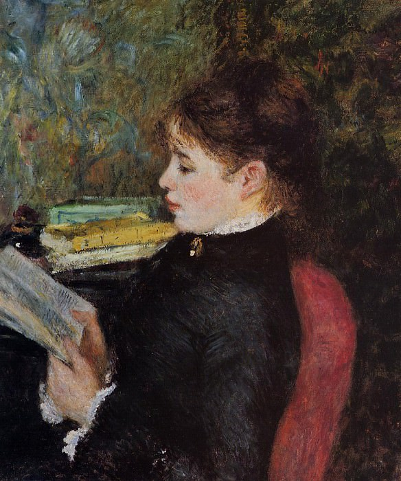 The Reader - 1877. Pierre-Auguste Renoir