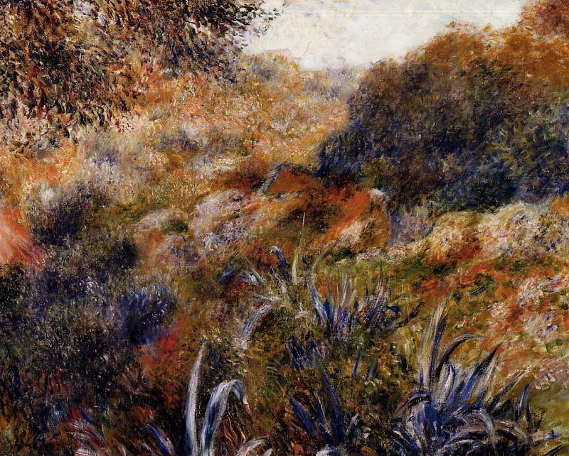 Algerian Landscape (also known as The Ravine of the Wild Women) -. Пьер Огюст Ренуар