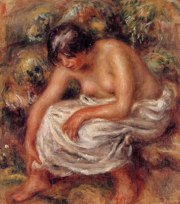 Bathing - 1915. Pierre-Auguste Renoir