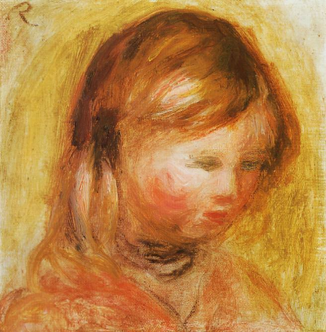 Young Girl - 1905. Pierre-Auguste Renoir