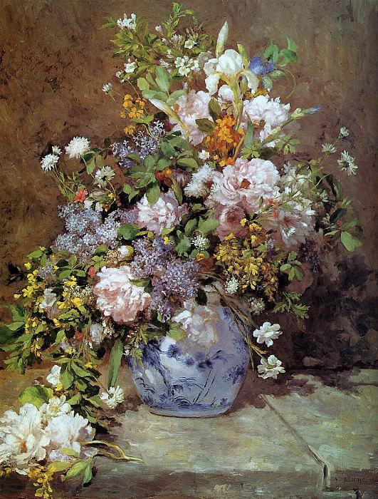 Spring Bouquet - 1866. Pierre-Auguste Renoir
