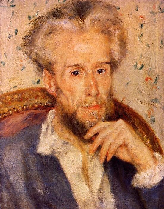 Victor Chocquet - 1876. Pierre-Auguste Renoir