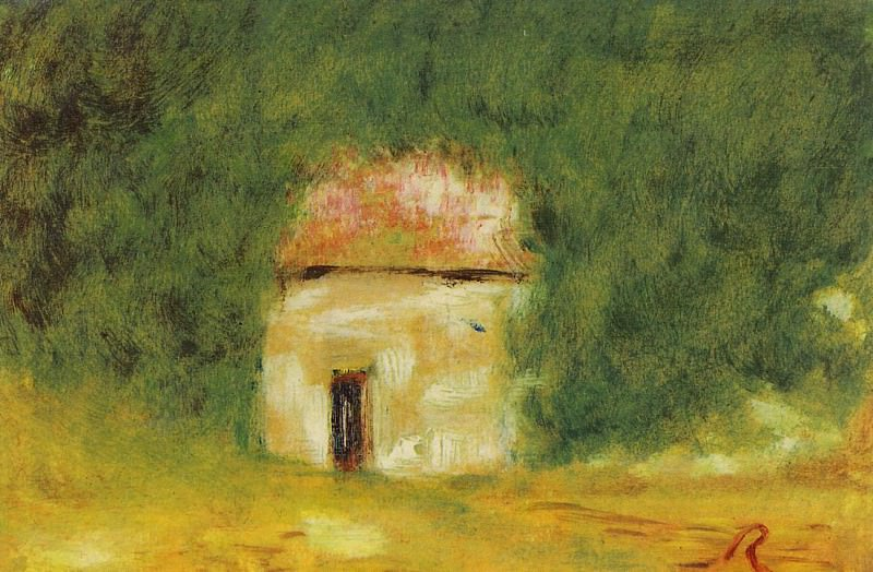 The Little House. Pierre-Auguste Renoir