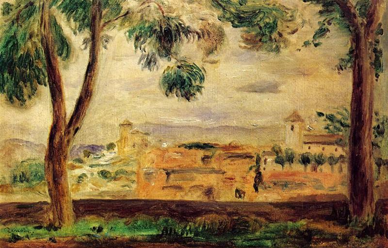 Cagnes. Pierre-Auguste Renoir