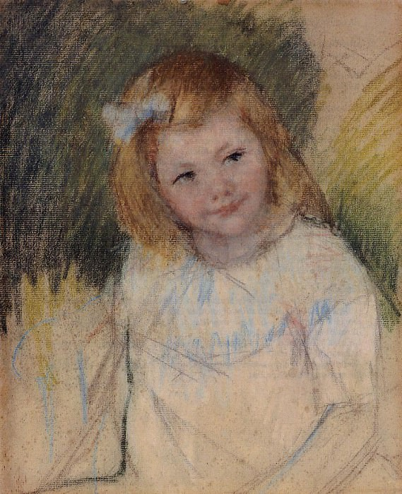 Sara Looking to the Right - 1901. Pierre-Auguste Renoir