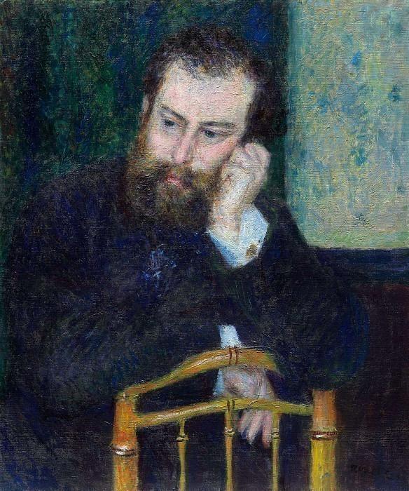 Alfred Sisley - 1876. Pierre-Auguste Renoir