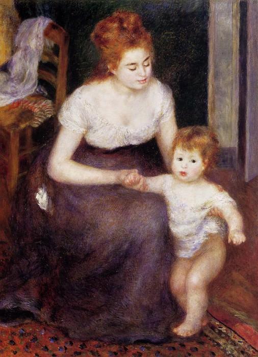 The First Step - 1876. Pierre-Auguste Renoir