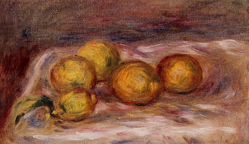 Lemons - 1912. Pierre-Auguste Renoir