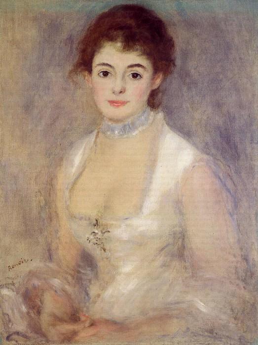 Madame Henriot - 1876. Пьер Огюст Ренуар