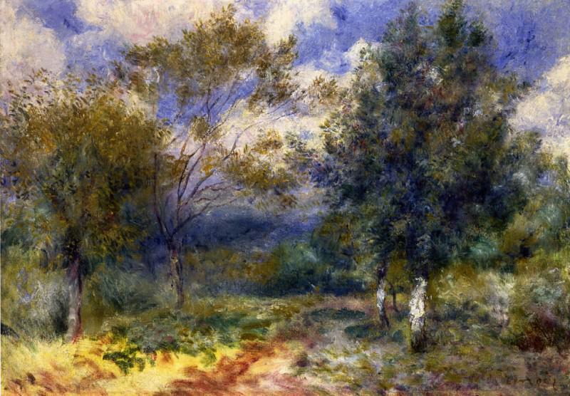 Sunny Landscape - 1880. Pierre-Auguste Renoir