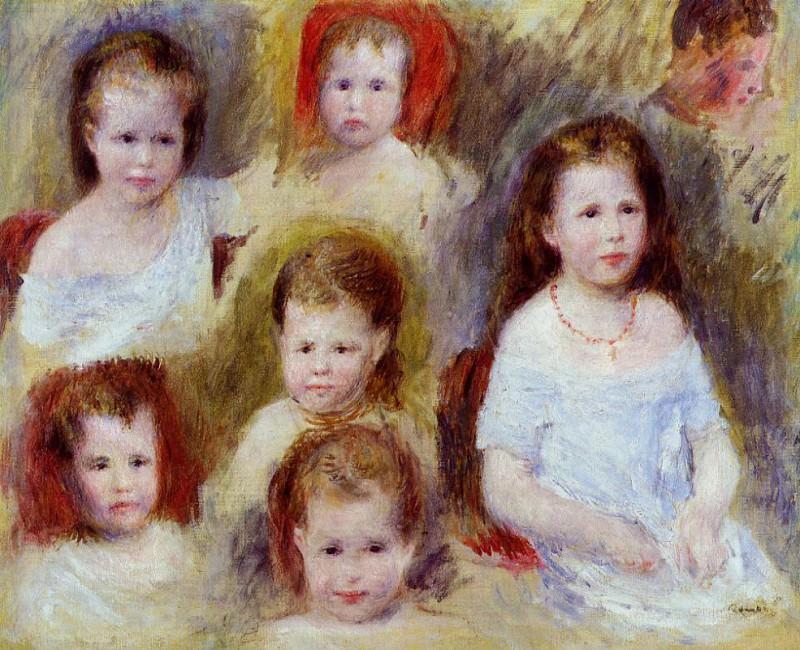 Portraits of Marie-Sophie Chocquet - 1876. Pierre-Auguste Renoir