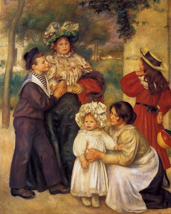 The Artists Family - 1896. Pierre-Auguste Renoir
