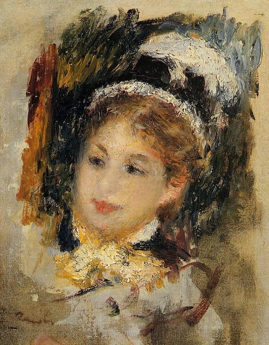 Dame en toilette de Ville - 1875. Пьер Огюст Ренуар