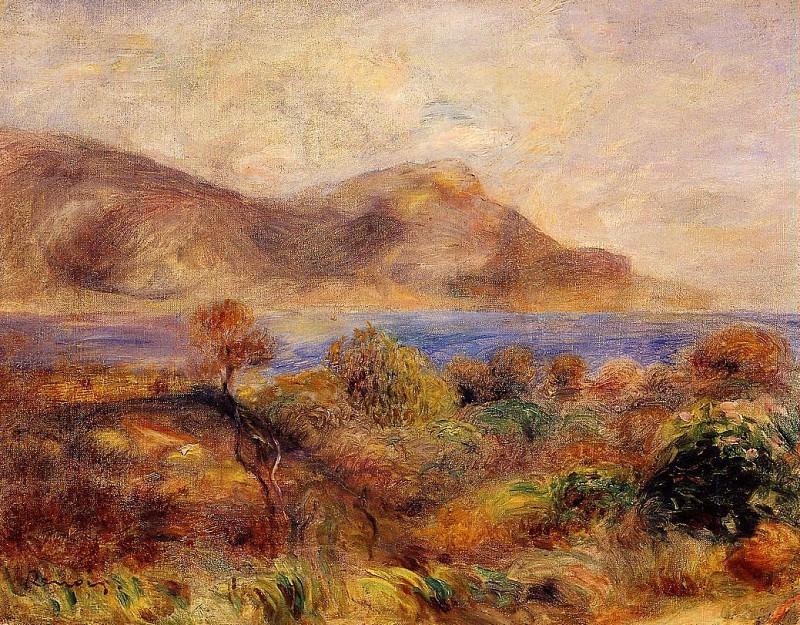 Mediteranean Landscape - 1905. Pierre-Auguste Renoir