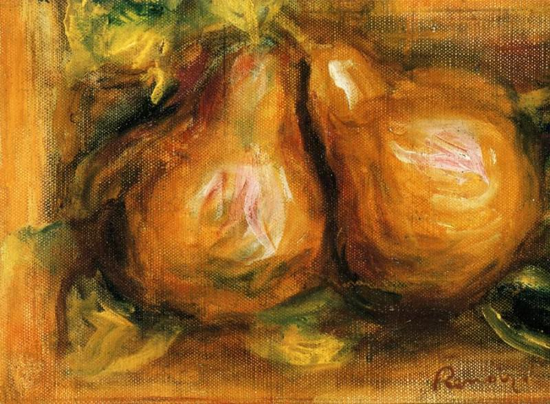 Pears - 1915. Пьер Огюст Ренуар