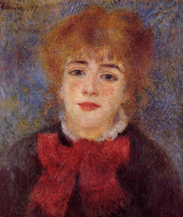 Jeanne Samary - 1877. Pierre-Auguste Renoir