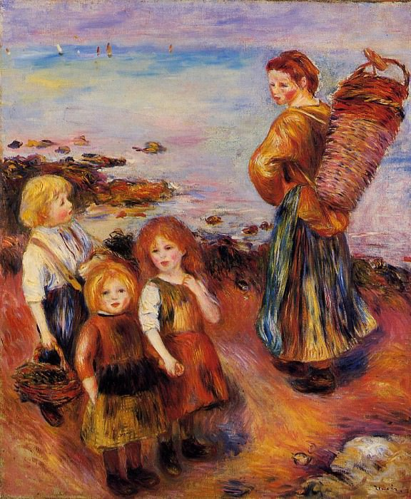 Mussel Fisherman - 1879. Pierre-Auguste Renoir