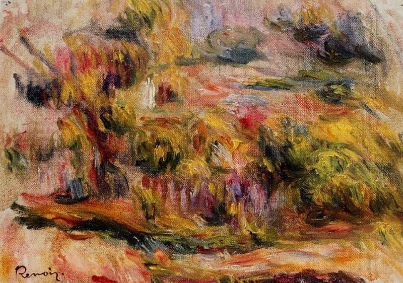 Landscape - 1919. Пьер Огюст Ренуар