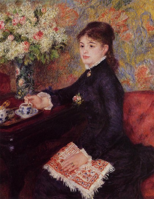 The Cup of Chocolate - 1878. Pierre-Auguste Renoir