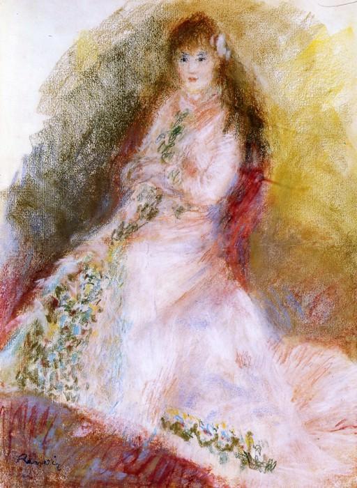 Ellen Andree - 1879. Пьер Огюст Ренуар