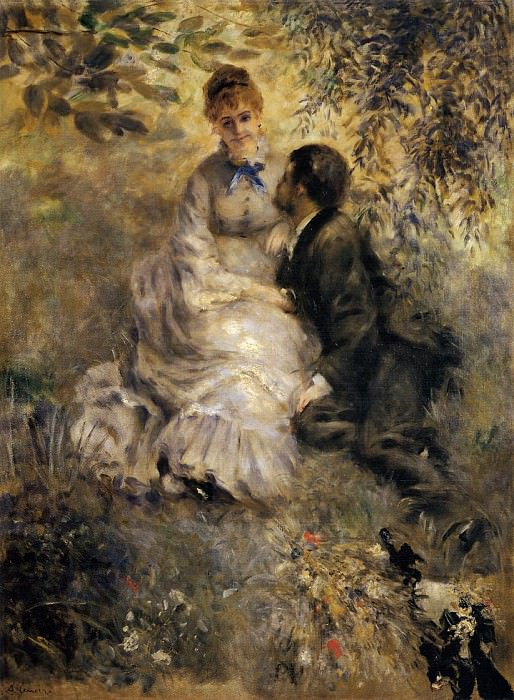 The Lovers - 1875. Pierre-Auguste Renoir