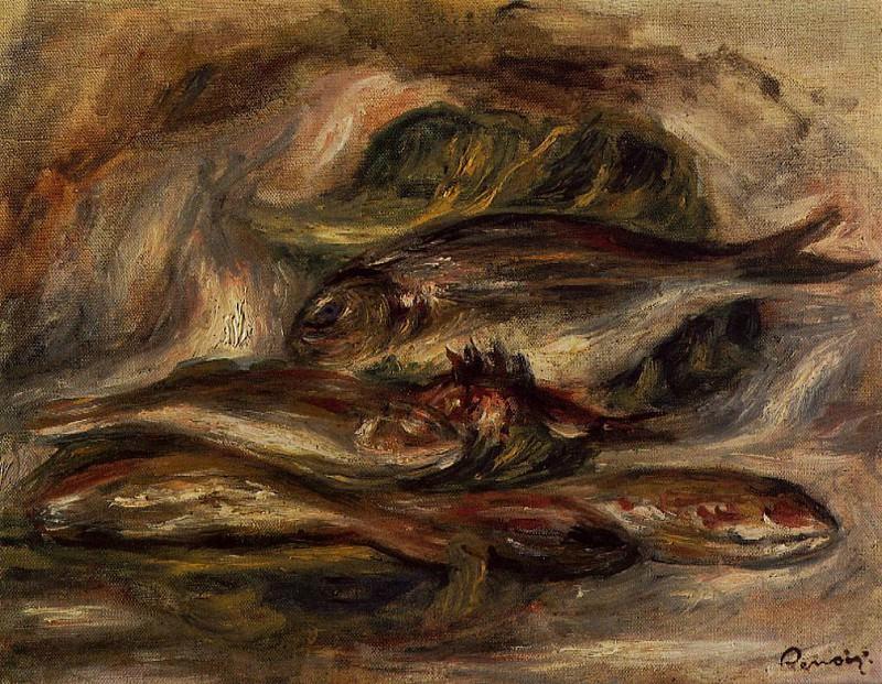 Fish - 1919. Pierre-Auguste Renoir