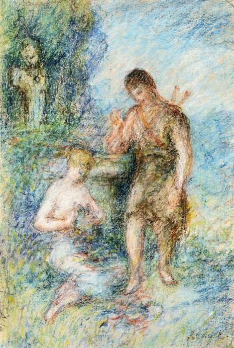 Rural Scene. Pierre-Auguste Renoir