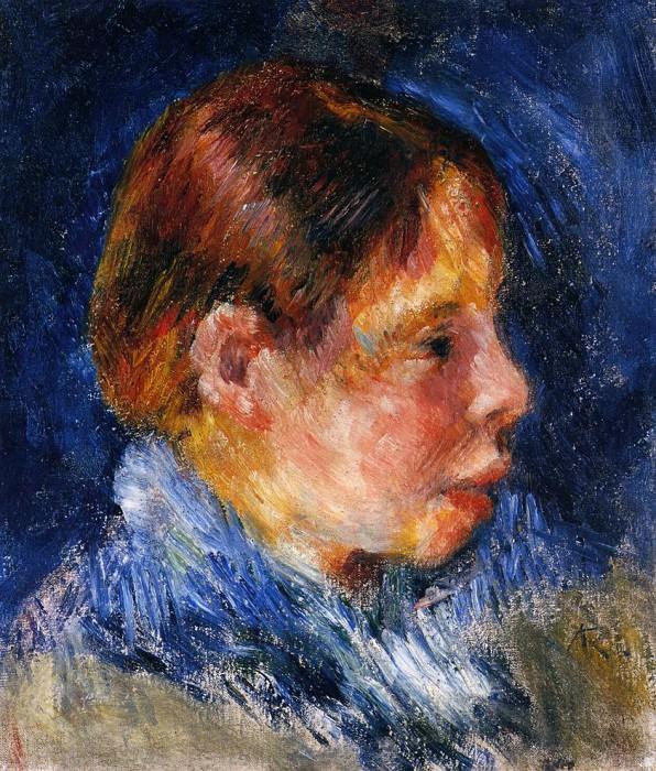 Portrait of a Child. Pierre-Auguste Renoir