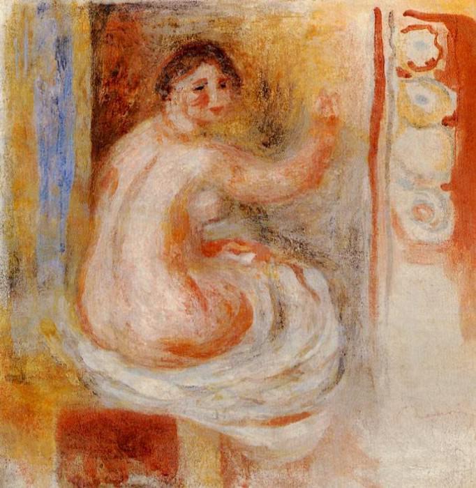 Nude - 1900. Pierre-Auguste Renoir