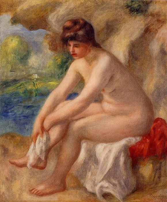 Leaving the Bath - 1890. Pierre-Auguste Renoir