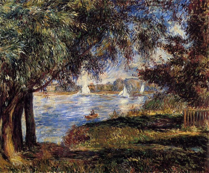 Bougival - 1880. Pierre-Auguste Renoir
