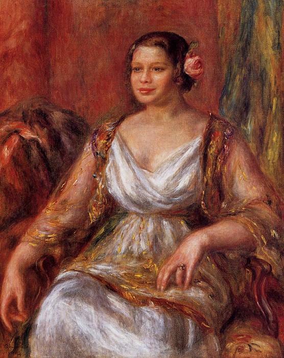 Tilla Durieux - 1914. Pierre-Auguste Renoir