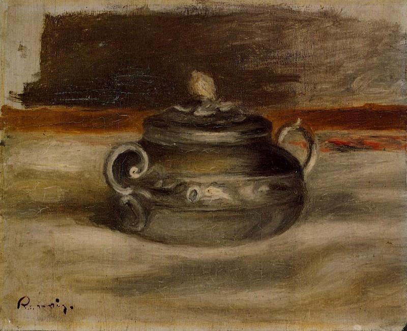 Sugar Bowl - 1908 - 1909. Pierre-Auguste Renoir