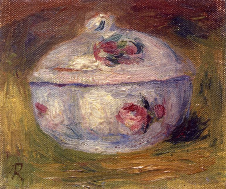 Sugar Bowl - 1911. Pierre-Auguste Renoir