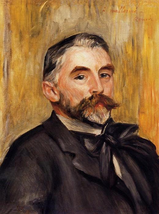 Stephane Mallarme - 1892. Pierre-Auguste Renoir