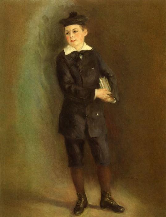 The Little School Boy - 1879. Pierre-Auguste Renoir