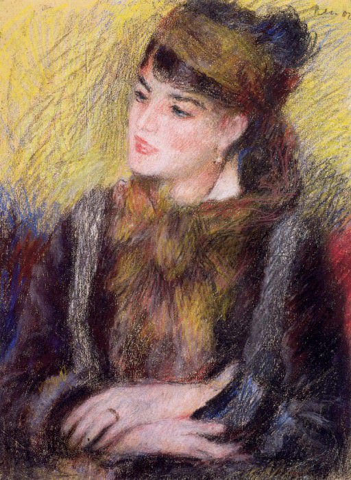 Study of a Woman. Pierre-Auguste Renoir