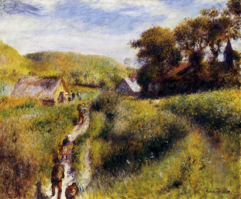 Grape Harvesters - 1879. Pierre-Auguste Renoir