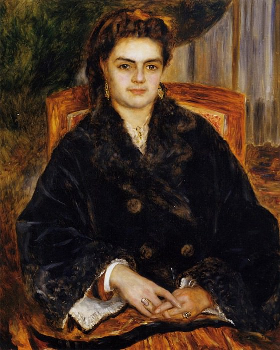Madame Marie Octavie Bernier - 1871. Pierre-Auguste Renoir