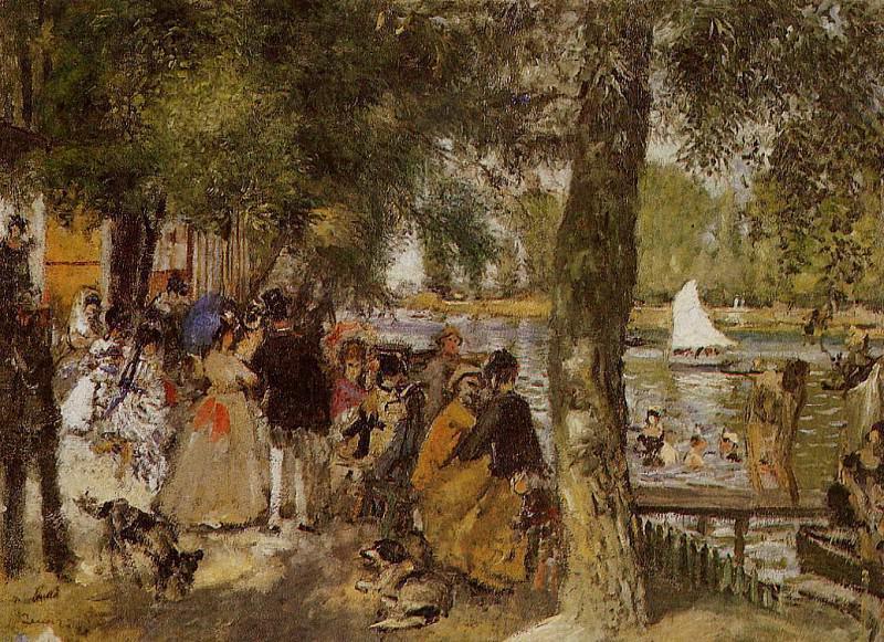 La Grenouillere - 1869. Pierre-Auguste Renoir