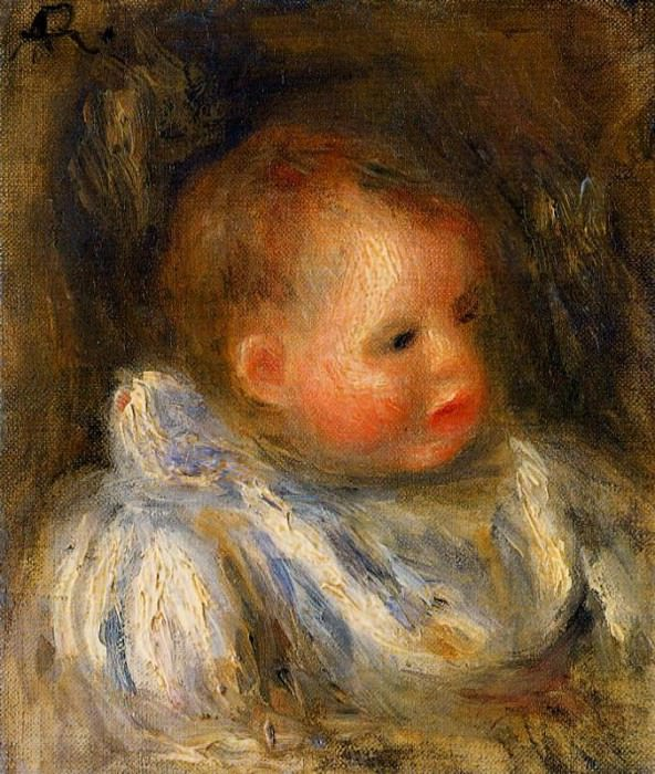 Portrait of Coco - 1904 - 1905. Pierre-Auguste Renoir