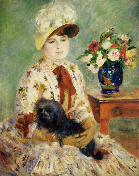 Madame Hagen - 1883. Pierre-Auguste Renoir