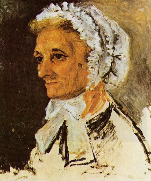 The Artists Mother - 1860. Pierre-Auguste Renoir