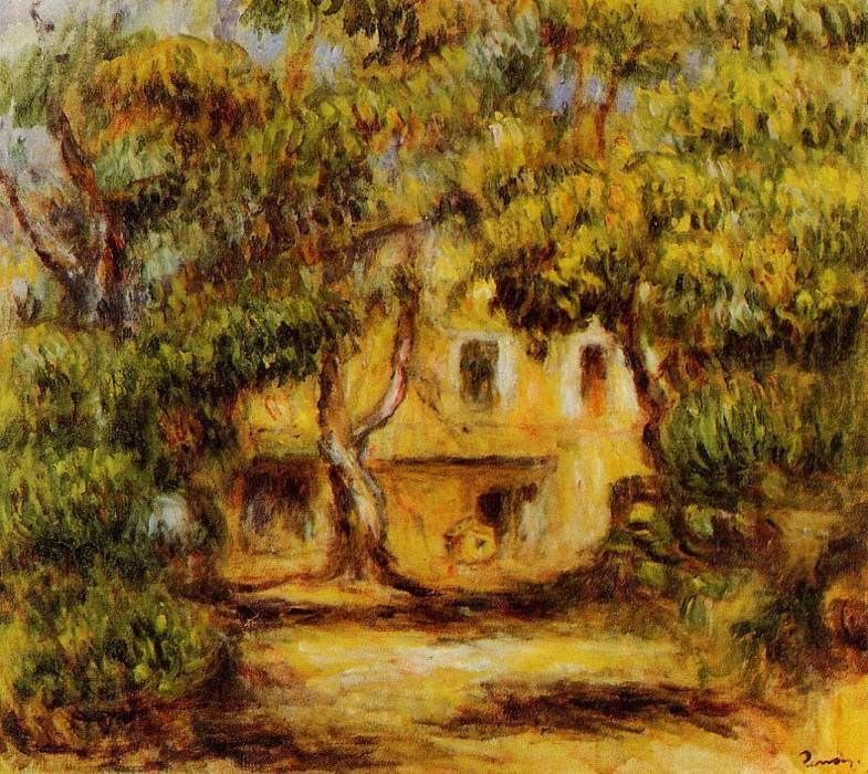 The Farm at Collettes - 1915. Pierre-Auguste Renoir
