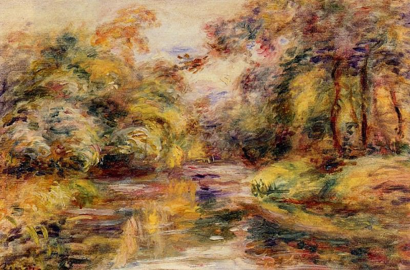 Little River. Pierre-Auguste Renoir